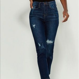 *** YMI DREAM FIT HIGH-RISE ANKLE JEANS ***